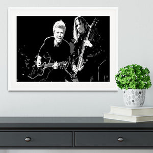 Bon Jovi Framed Print - Canvas Art Rocks - 5
