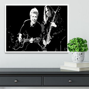 Bon Jovi Framed Print - Canvas Art Rocks -6