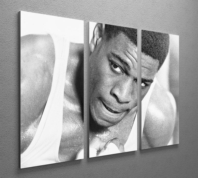 Boxer Frank Bruno 3 Split Panel Canvas Print - Canvas Art Rocks - 2