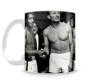 Boxers Floyd Patterson and Henry Cooper Mug - Canvas Art Rocks - 2