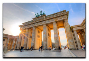 Brandenburg gate Canvas Print or Poster  - Canvas Art Rocks - 1