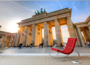 Brandenburg gate Wall Mural Wallpaper - Canvas Art Rocks - 2