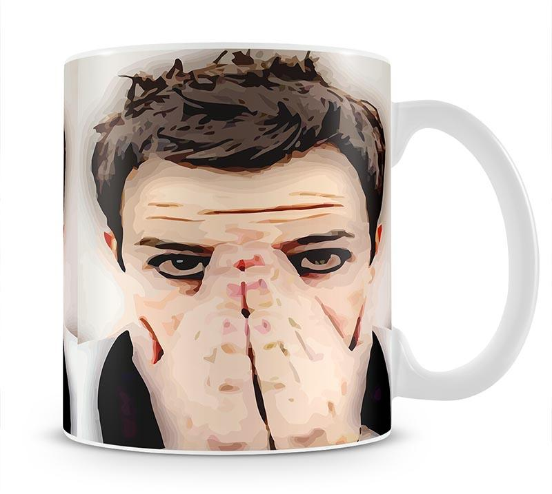 Brandon Flowers From The Killers Mug - Canvas Art Rocks - 1