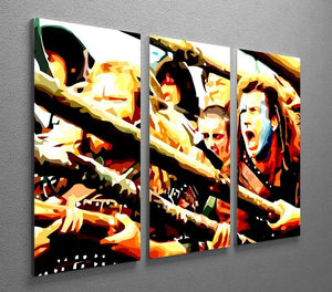 Braveheart 3 Split Panel Canvas Print - Canvas Art Rocks - 4