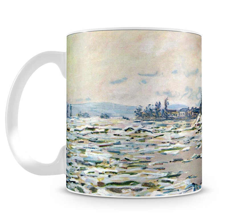 Break Up of Ice by Monet Mug - Canvas Art Rocks - 4
