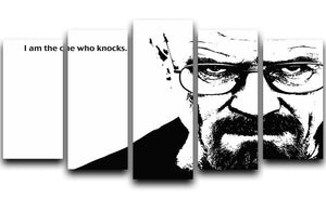 Breaking Bad Walter White 5 Split Panel Canvas  - Canvas Art Rocks - 1
