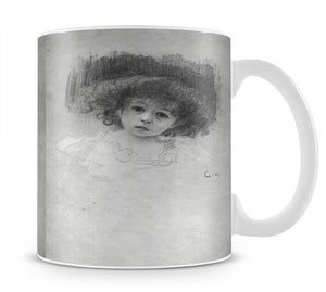 Breast image of a child by Klimt Mug - Canvas Art Rocks - 1