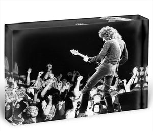 Brian May of Queen Acrylic Block - Canvas Art Rocks - 1