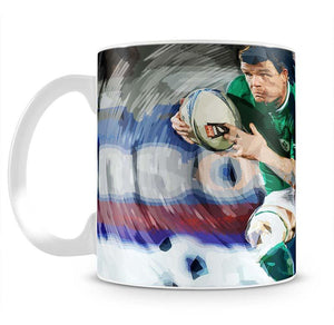 Brian ODriscoll Mug - Canvas Art Rocks - 2