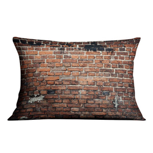 Brick wall background Cushion - Canvas Art Rocks - 4