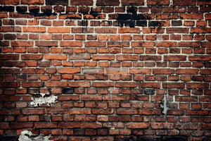 Brick wall background Wall Mural Wallpaper - Canvas Art Rocks - 1
