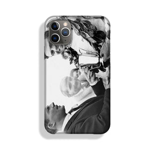 British racing drivers Jim Clark and Stirling Moss Phone Case iPhone 11 Pro Max