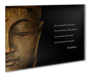 Buddha Quote Metal Print - Canvas Art Rocks - 1