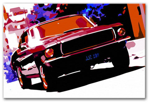 Ford GT Mustang Print - They'll Love Wall Art - 1