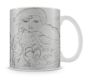 Bust of a woman by Klimt Mug - Canvas Art Rocks - 1