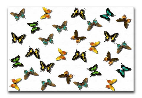 Butterfly Pattern Print - They'll Love Wall Art - 1