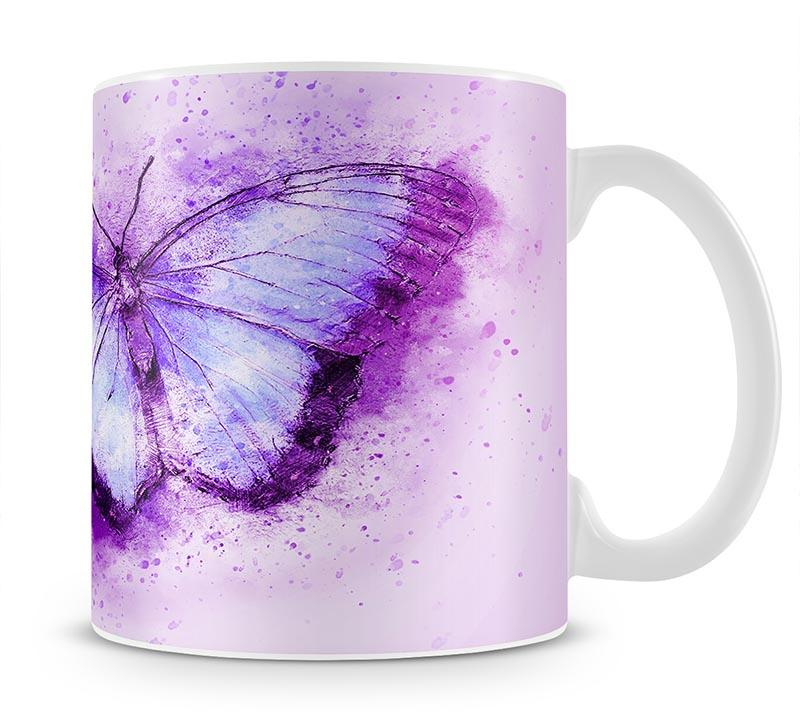 Butterfly Painting Mug - Canvas Art Rocks - 1