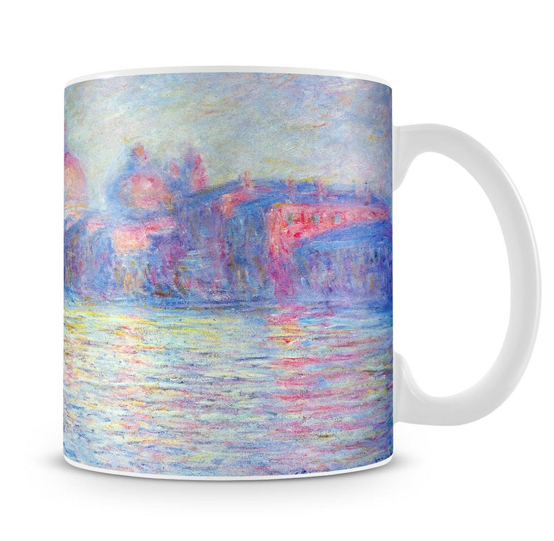 Canal Grand by Monet Mug - Canvas Art Rocks - 4