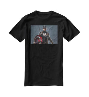 Captain America T-Shirt - Canvas Art Rocks - 1