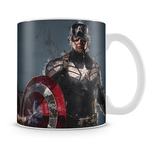 Captain America Mug - Canvas Art Rocks