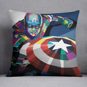 Captain America Pop Art Cushion
