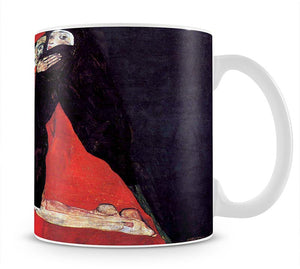 Cardinal and Nun or The caress by Egon Schiele Mug - Canvas Art Rocks - 1