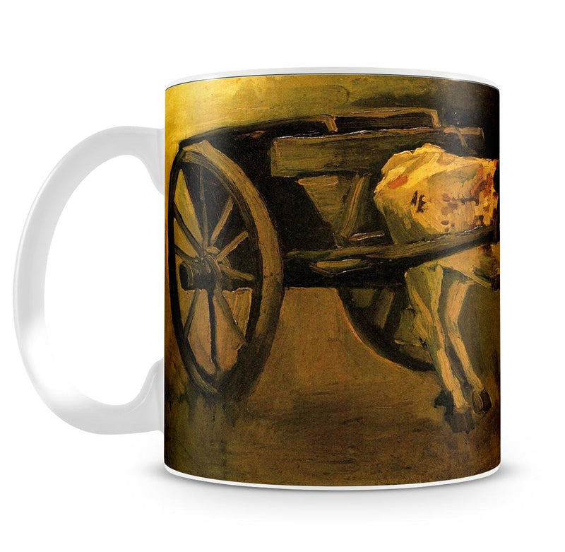 Cart with Red and White Ox by Van Gogh Mug - Canvas Art Rocks - 4