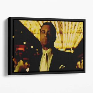 Casino De Niro Floating Framed Canvas