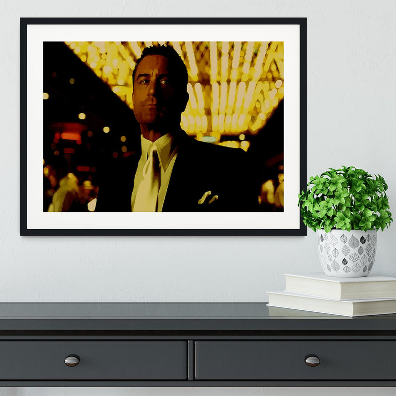 Casino De Niro Framed Print - Canvas Art Rocks - 1