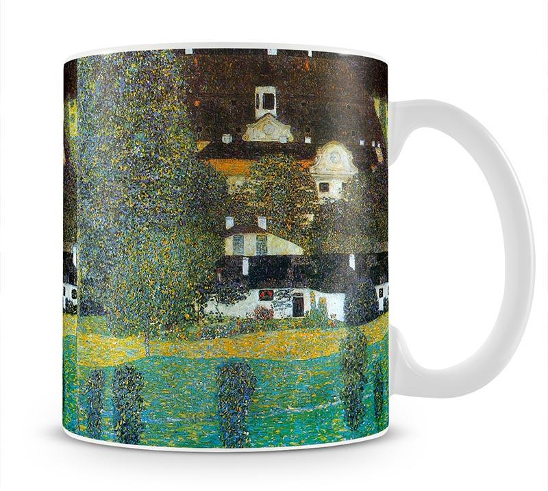Castle Chamber at Attersee II by Klimt Mug - Canvas Art Rocks - 1