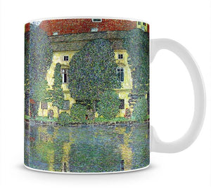 Castle at the Attersee by Klimt Mug - Canvas Art Rocks - 1