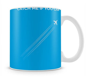 Catch Me If You Can Minimal Movie Mug - Canvas Art Rocks - 1