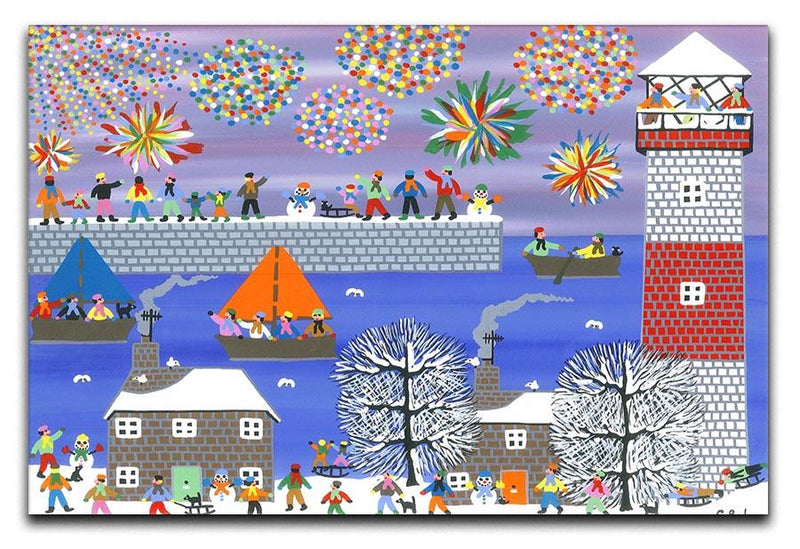 Celebration by Gordon Barker Canvas Print or Poster - Canvas Art Rocks - 1
