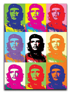 Che Guevara Multi Pop Art Print - Canvas Art Rocks - 1