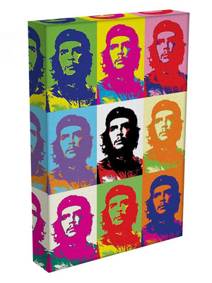 Che Guevara Multi Pop Art Print - Canvas Art Rocks - 2