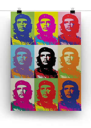 Che Guevara Multi Pop Art Print - Canvas Art Rocks - 3