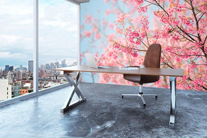 Cherry Blossom Wall Mural Wallpaper - Canvas Art Rocks - 3