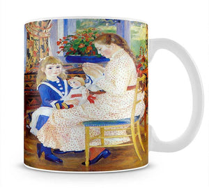 Children in the afternoon in Wargemont by Renoir Mug - Canvas Art Rocks - 1