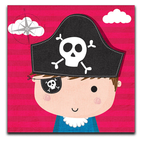 Children's Pirate Canvas Print