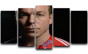 Chris Hoy 2012 5 Split Panel Canvas - Canvas Art Rocks - 1