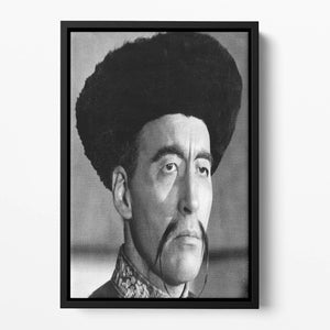 Christopher Lee in The Face of Fun Manchu Floating Framed Canvas