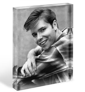 Cliff Richard in 1964 Acrylic Block - Canvas Art Rocks - 1
