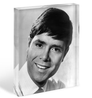 Cliff Richard in 1967 Acrylic Block - Canvas Art Rocks - 1