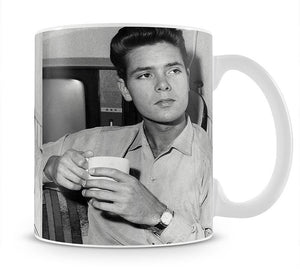 Cliff Richard with a cup of tea Mug - Canvas Art Rocks - 1