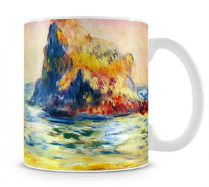 Cliffs at Guernsey by Renoir Mug - Canvas Art Rocks - 1