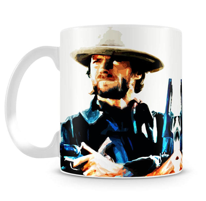 Clint Eastwood Spaghetti Western Cowboy Mug - Canvas Art Rocks