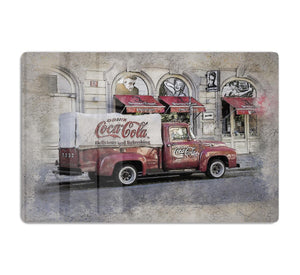 Coca Cola Van Painting HD Metal Print