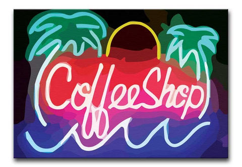 Coffee Shop Sign Print - They'll Love Wall Art - 1