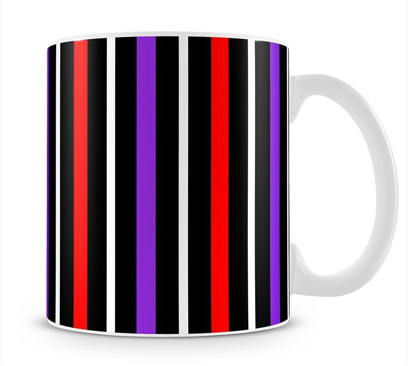 Colour Stripes FS2 Mug - Canvas Art Rocks - 1