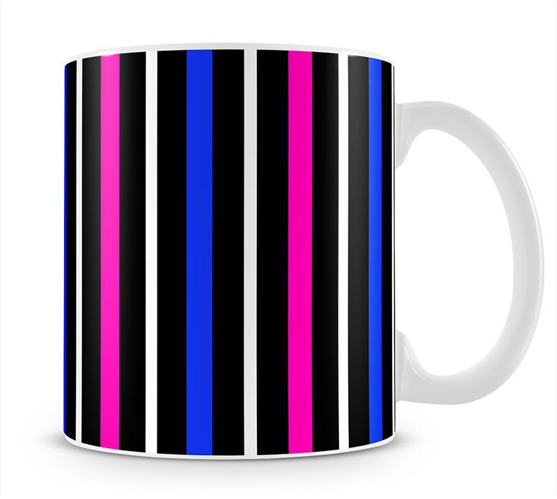 Colour Stripes FS3 Mug - Canvas Art Rocks - 1
